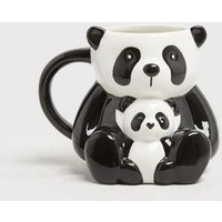 Black Baby Panda Mug New Look