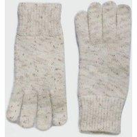 Cream Fine Knit Gloves New Look