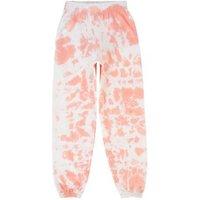 Girls Pink Tie Dye Jersey Joggers New Look
