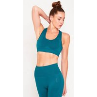 GymPro Teal Seamless Sports Bra New Look