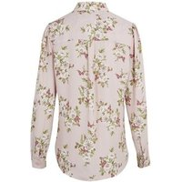 Pink Floral Long Sleeve Shirt New Look