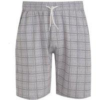 Grey Check Tie Waist Shorts New Look