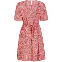 Red-Daisy-Flutter-Sleeve-Tea-Dress-New-Look