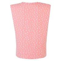 Cameo Rose Pink Spot Shoulder Pad T-Shirt New Look