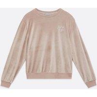 Mink Velvet Just Be You Logo Lounge Sweatshirt New Look