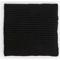 Girls Black Knit Snood New Look