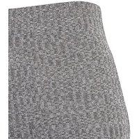 Tall Dark Grey Ribbed Fine Knit Wide Leg Trousers New Look