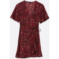 Red-Leopard-Print-Frill-Wrap-Dress-New-Look