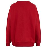Red Chicago 98 Logo Sweatshirt New Look