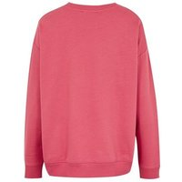 Bright Pink Overdressed Slogan Sweatshirt New Look