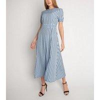 Cutie London Blue Spot Maxi Dress New Look