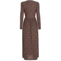JDY Black Floral Long Sleeve Maxi Dress New Look