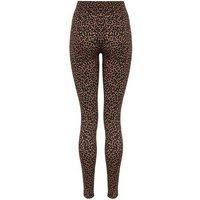 Brown Leopard Print High Waist Leggings New Look