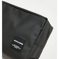 Jack & Jones Black Toiletry Bag New Look
