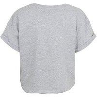 Girls Grey Boo Boogie Slogan T-Shirt New Look