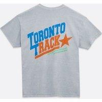 Pale Grey Toronto Slogan T-Shirt New Look