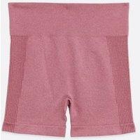 Deep Pink Seamless Sports Shorts New Look