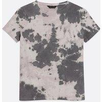 Pink Tie Dye Jersey T-Shirt New Look