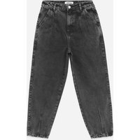 Petite Black Slouch Nia Balloon Leg Jeans New Look