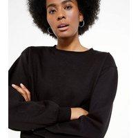 Tall Black Crew Neck Sweatshirt New Look