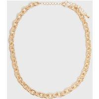 Gold Chunky Chain Choker New Look