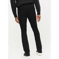 Men's Only & Sons Black Dark Wash Slim Fit Jeans New Look