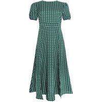 Cutie London Green Spot Maxi Dress New Look