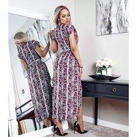 Missfiga-Multicoloured-Snake-Print-Wrap-Midi-Dress-New-Look