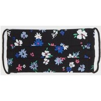 Girls Black Floral Reusable Face Covering New Look