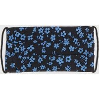 Girls Black Ditsy Floral Reusable Face Covering New Look