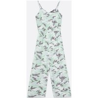 Girls Green Camo V Neck Jumpsuit New Look
