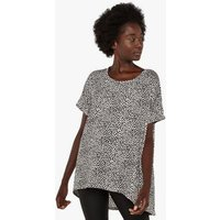 Apricot Off White Animal Print Tunic Top New Look