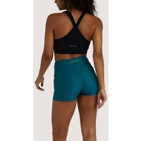 Wolf-and-Whistle-Teal-Leopard-Print-Sports-Shorts-New-Look