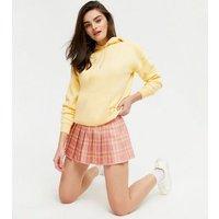 Cutie London Pink Check Mini Tennis Skirt New Look
