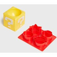 Men's Multicoloured Super Mario Egg Cup and Toast Cutter New Look