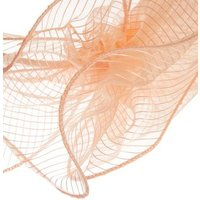 QUIZ Pale Pink Glitter Floral Fascinator Headband New Look