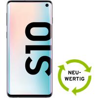 Samsung Galaxy S10 128 GB weiss NEUWERTIG mit Smart