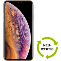 Apple iPhone XS 64 GB gold NEUWERTIG mit Smart
