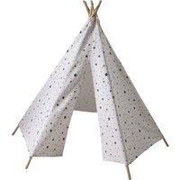 Children's Teepee with Triangle and Star Print