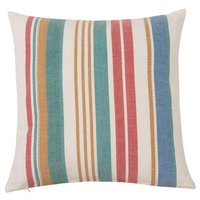 Cotton Cushion Cover with Bright Stripes 40x40