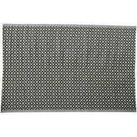 Polypropylene Outdoor Rug in Black & White 180x270