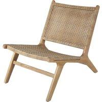 Resin Wicker and Solid Acacia Garden Armchair