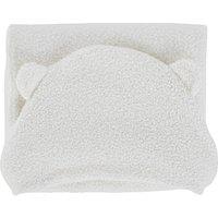 White baby blanket 75x100cm