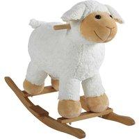 wooden sheep rocker H 60cm