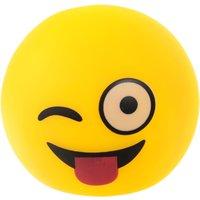 Emoji Wink Novelty Lamp