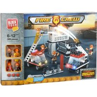 Block Tech Fire Crew Downtown Emergency Playset