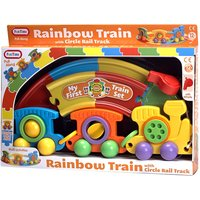 Fun Time Rainbow Train with Circle Rail track