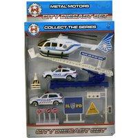 A-Z Diecast Police Play Set
