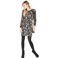 V By Very Lace Raglan Tea Dress