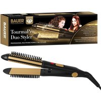 Bauer Professional Tourmaline Ionic Ceramic 2-in-1 Curler and Straightener